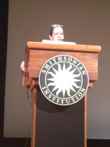 Dr. Warson presenting at the National Museum of the American Indian